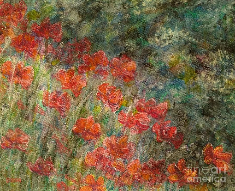 Red Poppies by Lisa Bliss Rush