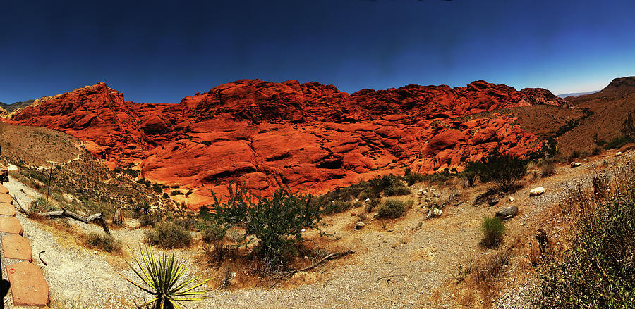 Red Rock Canyon, Nv Photograph by Wirehead Arts