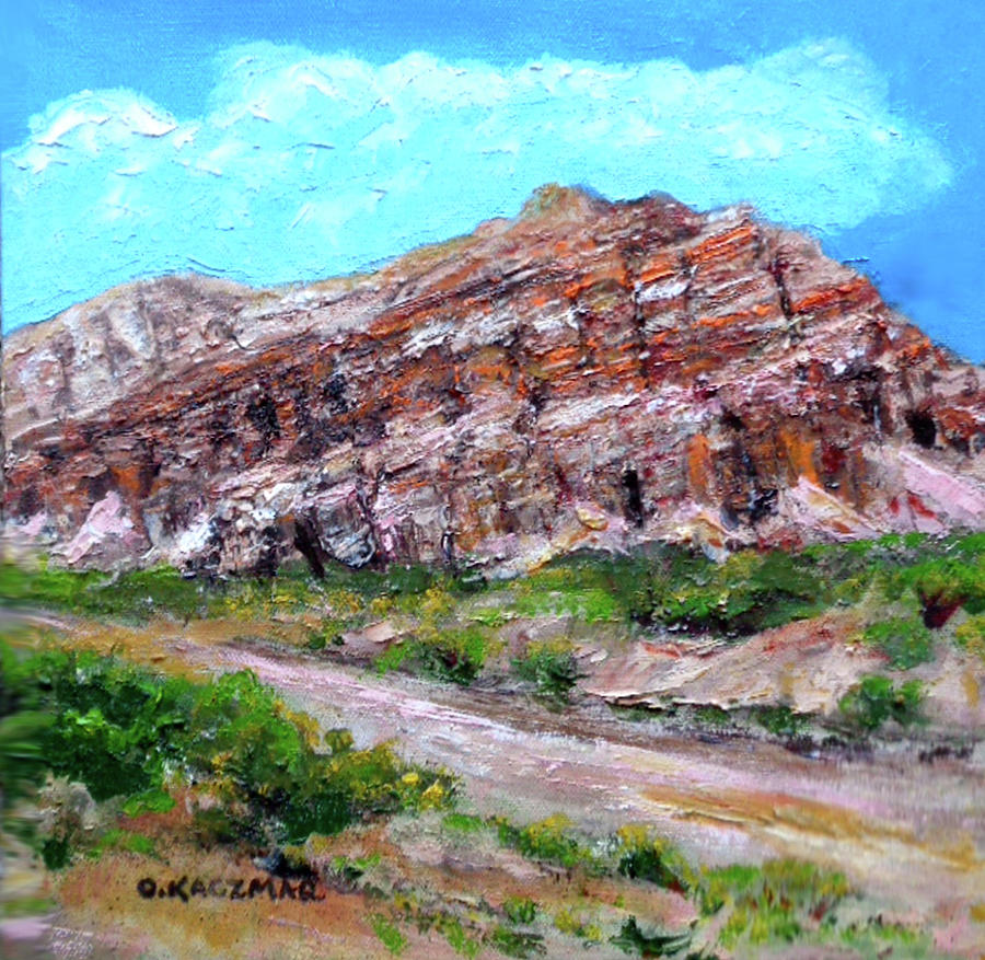 Red Rock Canyon by Olga Kaczmar