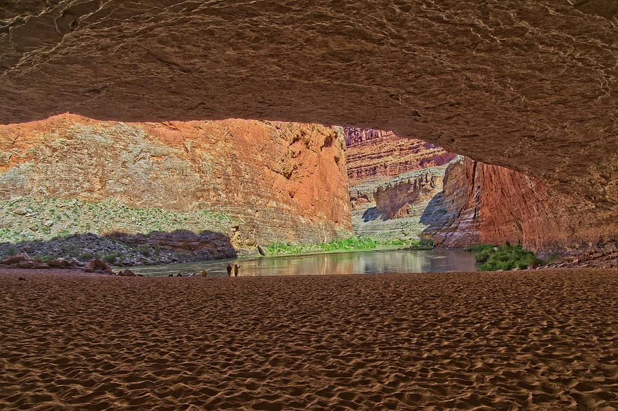 Red Rock Cave by Walt Sterneman
