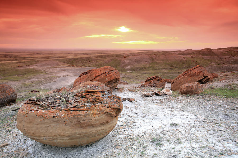 Red Rock Coulee Photograph by Imaginegolf