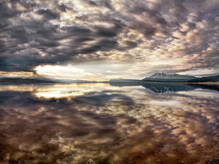 Red Rock Lake Photograph - Red Rock Lake Sunrise by Leland D Howard