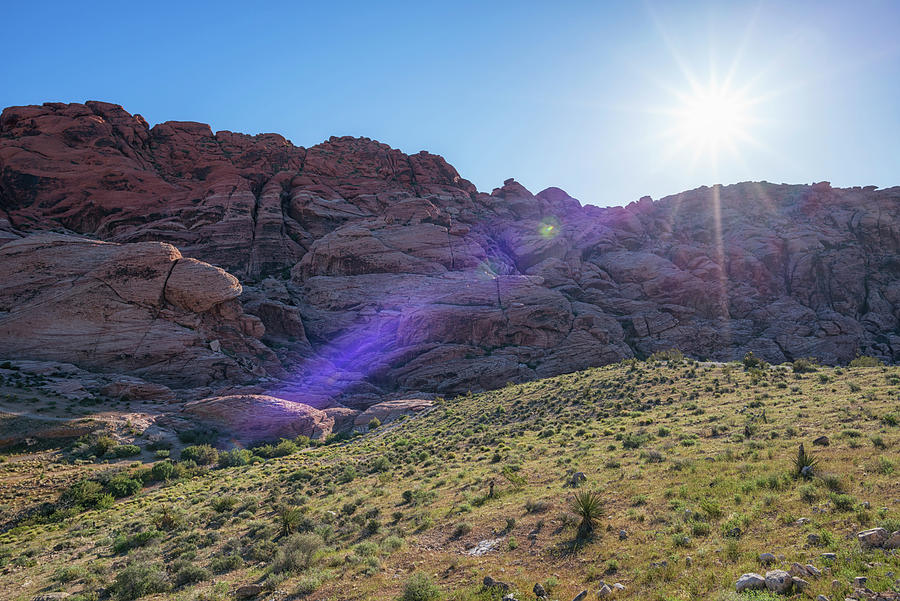 Red Rock Morning #1 by Joseph S Giacalone