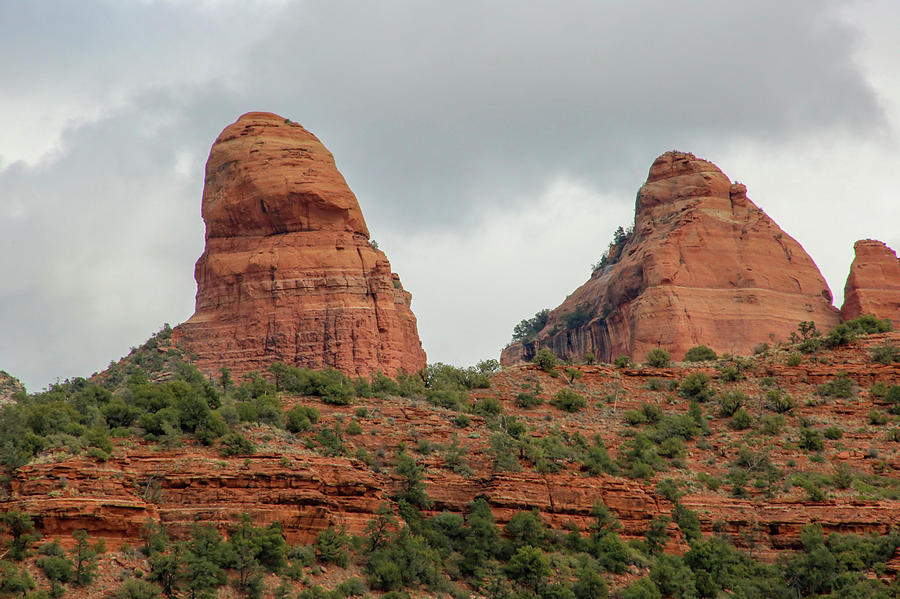 Red Rock Photograph - Red Rock of Sedona by Laura Smith