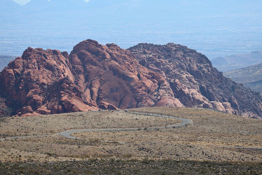 Red Rock Scenic Drive by Sagittarius Viking