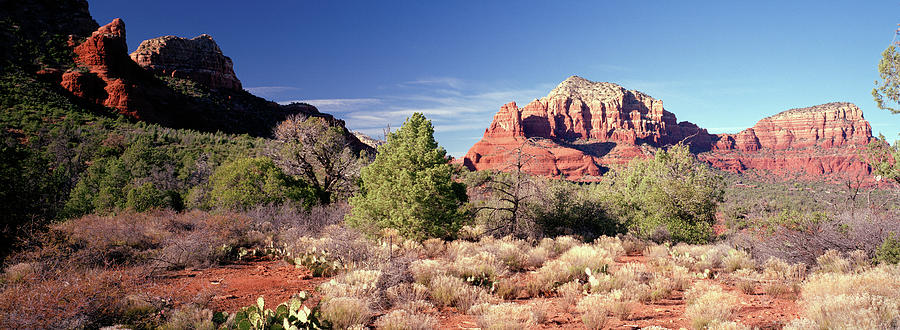 Red Rock Trail View At Sedona Photograph by Lfreytag