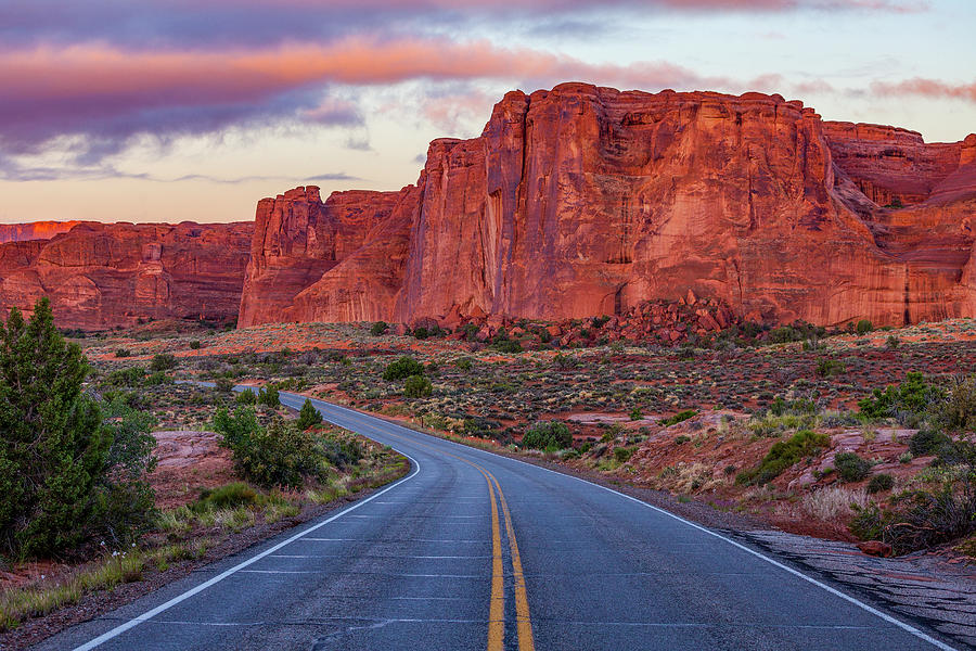 Red Rocks Road by Darren White
