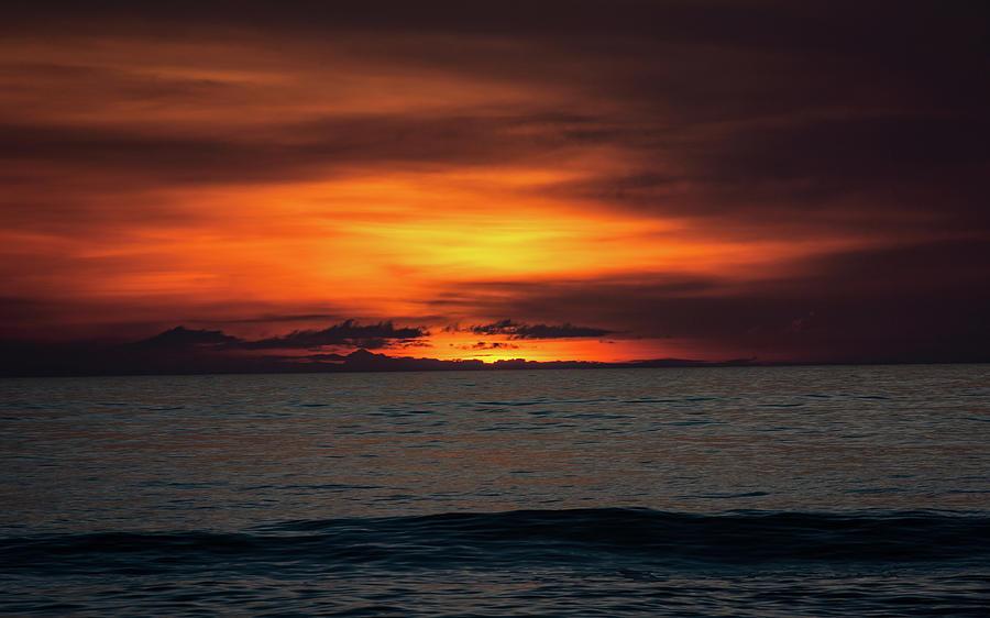 Red Sunrise by Lora J Wilson
