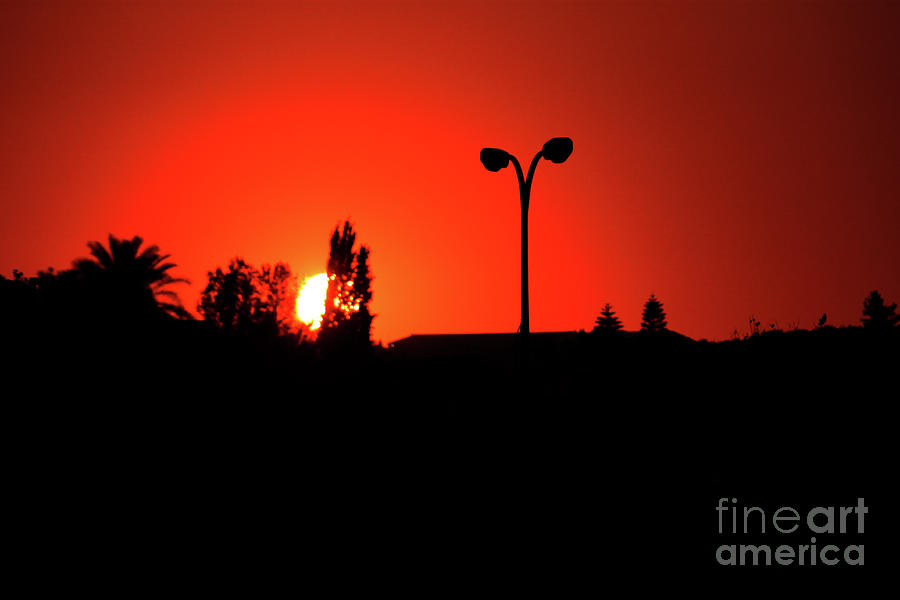 Red Sunset by Doc Braham