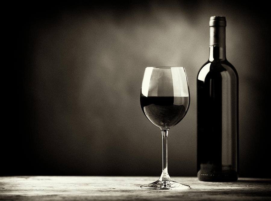 Red Wine Photograph by Kaisersosa67
