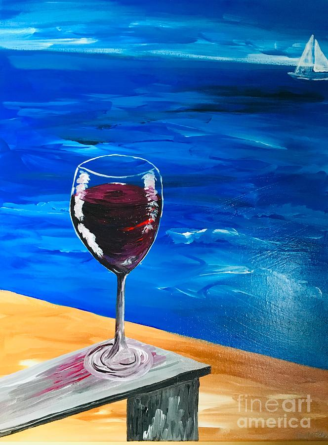 Red Wine by Sheila McPhee