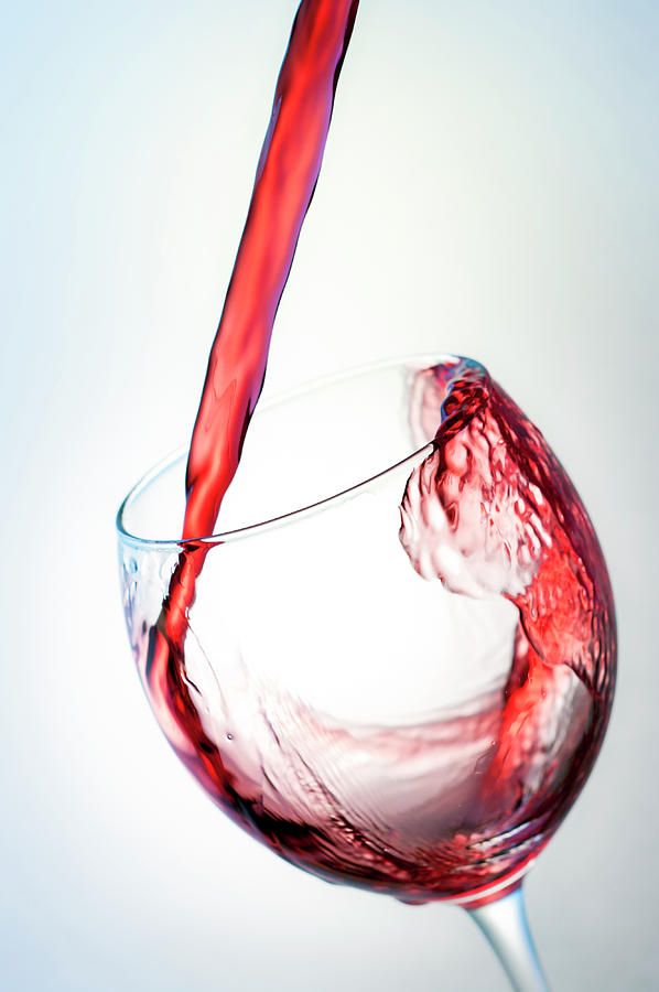 Red Wine Photograph by Socjosenspg