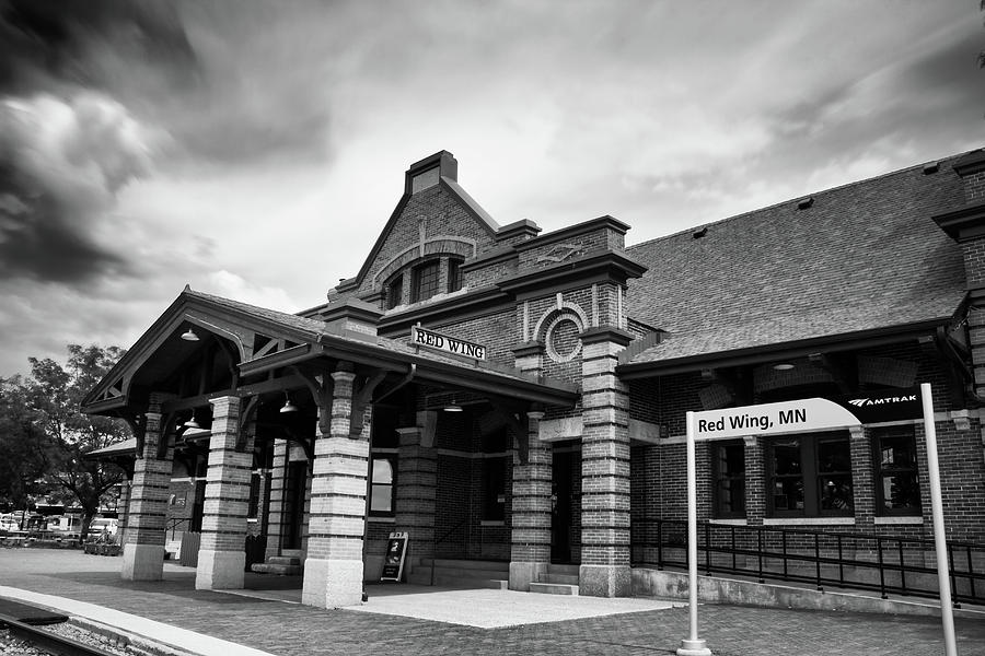 Red Wing Train Station by Jimmy Ostgard