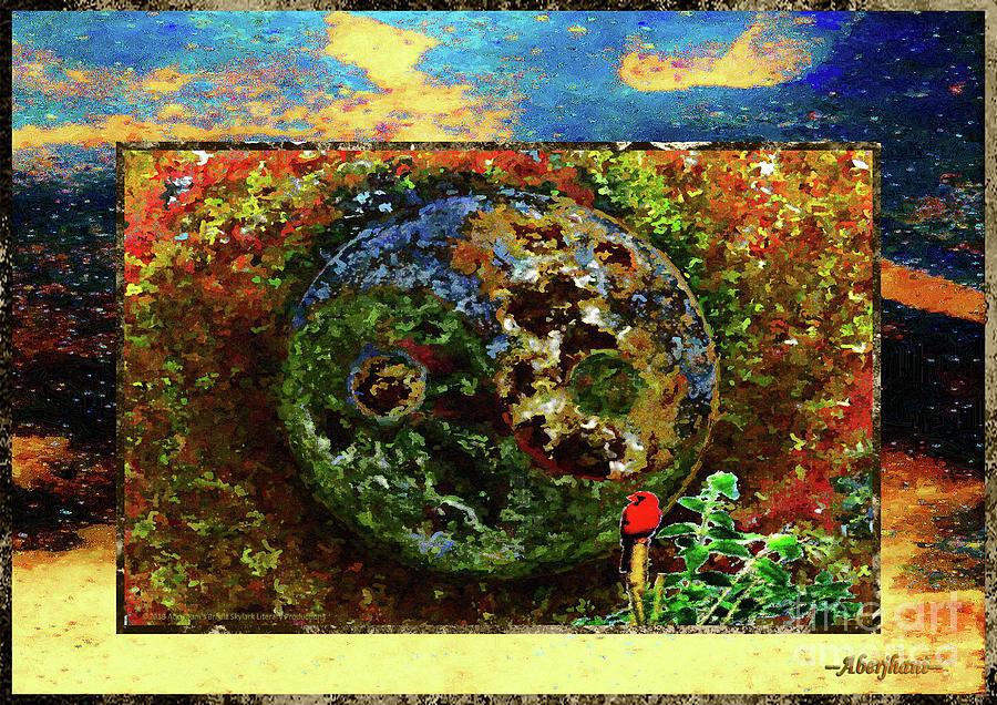 Communication Digital Art - Redbird and the Astonishing Epiphany by Aberjhani
