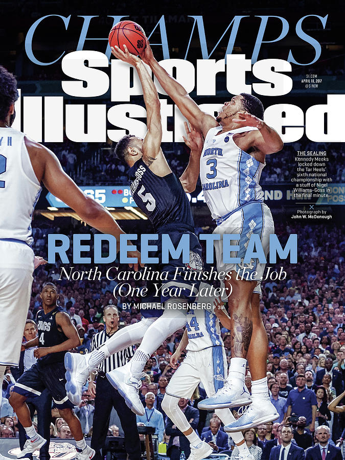 Redeem Team North Carolina Finishes The Job one Year Later Sports Illustrated Cover Photograph by Sports Illustrated