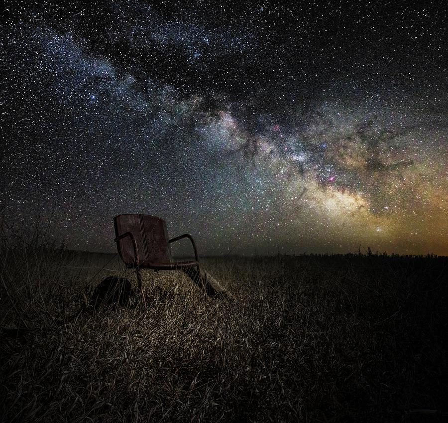 Planetarium Photograph - Redneck Planetarium by Aaron J Groen