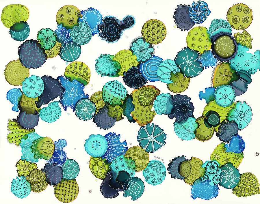 Reef Encounter #5 by Kathryn Riley Parker