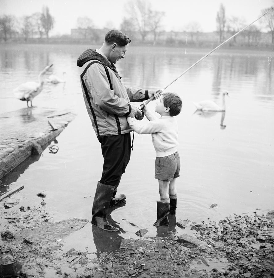 Reeling In Photograph by Chaloner Woods