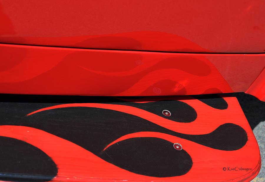 Reflctions at the Car Show 4 by Kae Cheatham