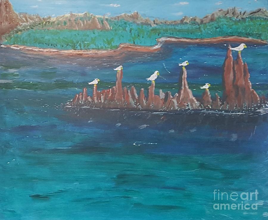 Reflecting Birds by Troy Jones