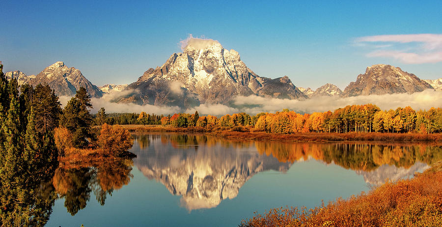 Reflection at Oxbow Bend by Gordon Ripley