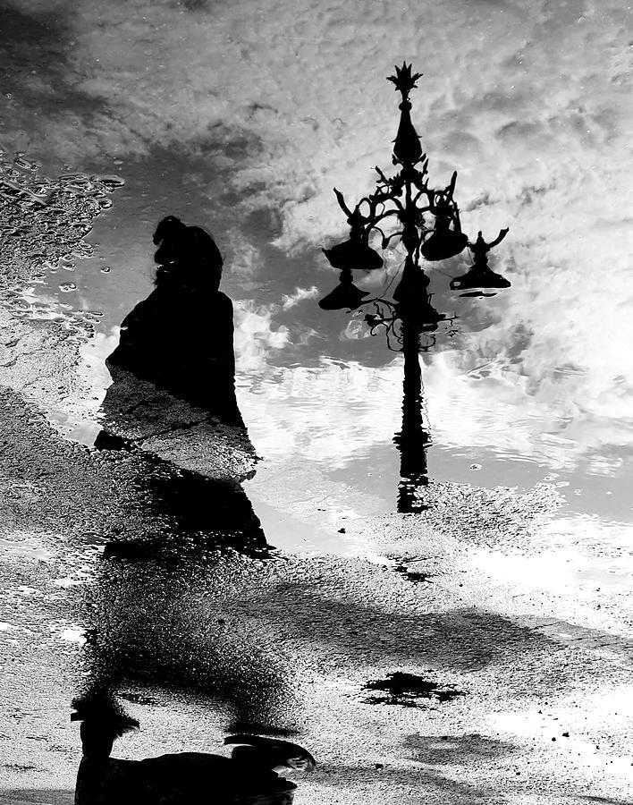 Reflection of a Lady by Prakash Ghai
