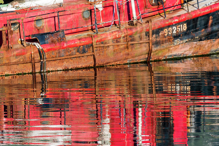 Reflection Rust Red by Robert Potts