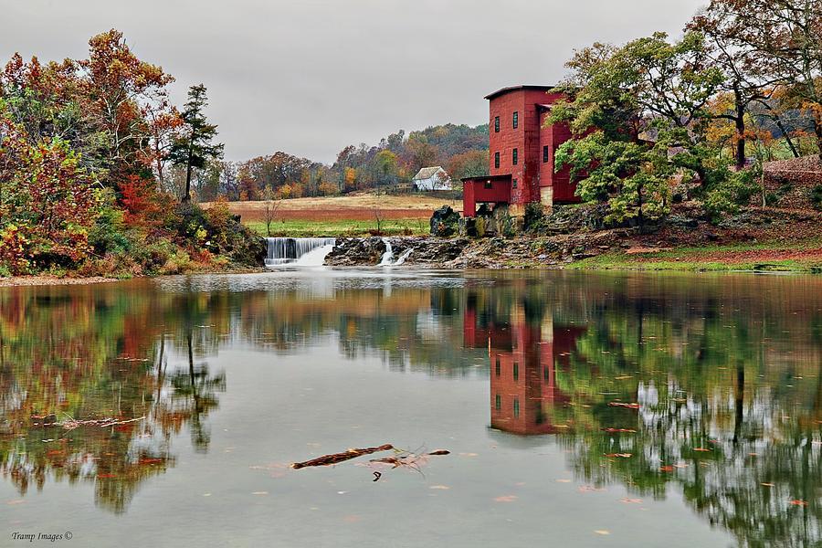 Reflections at Dillard Mill by Wesley Nesbitt