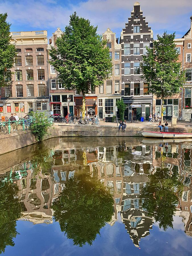 Reflections of Amsterdam by Andrea Whitaker