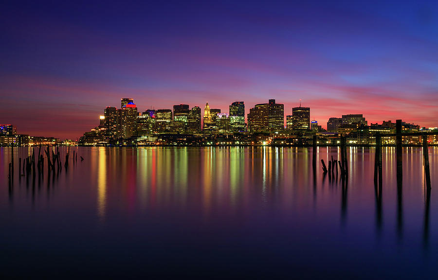 Reflections of Boston II by Rob Davies