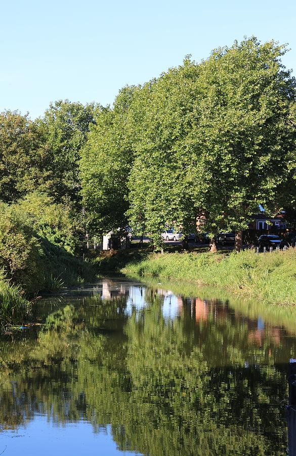 Reflections Photograph - Reflections Of Bridgewater Canal - 1 by Michaela Perryman