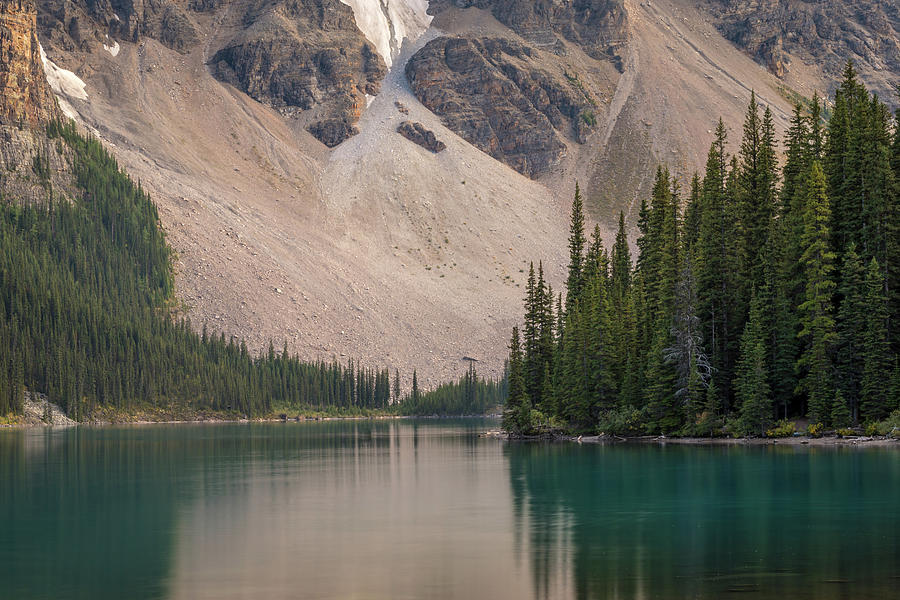 Reflections of Moraine Lake by Andy Konieczny
