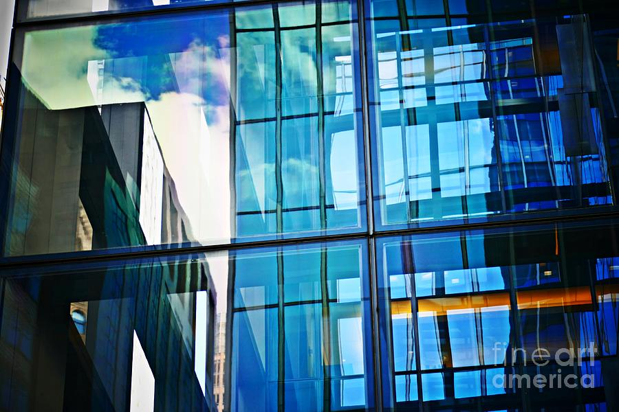 Reflections On East 42nd Street Photograph