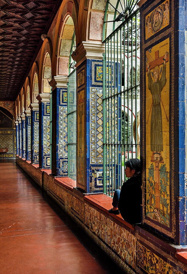 Cloister Contemplation by Jon Exley