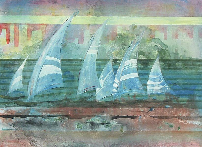 Regatta by Edie Schneider