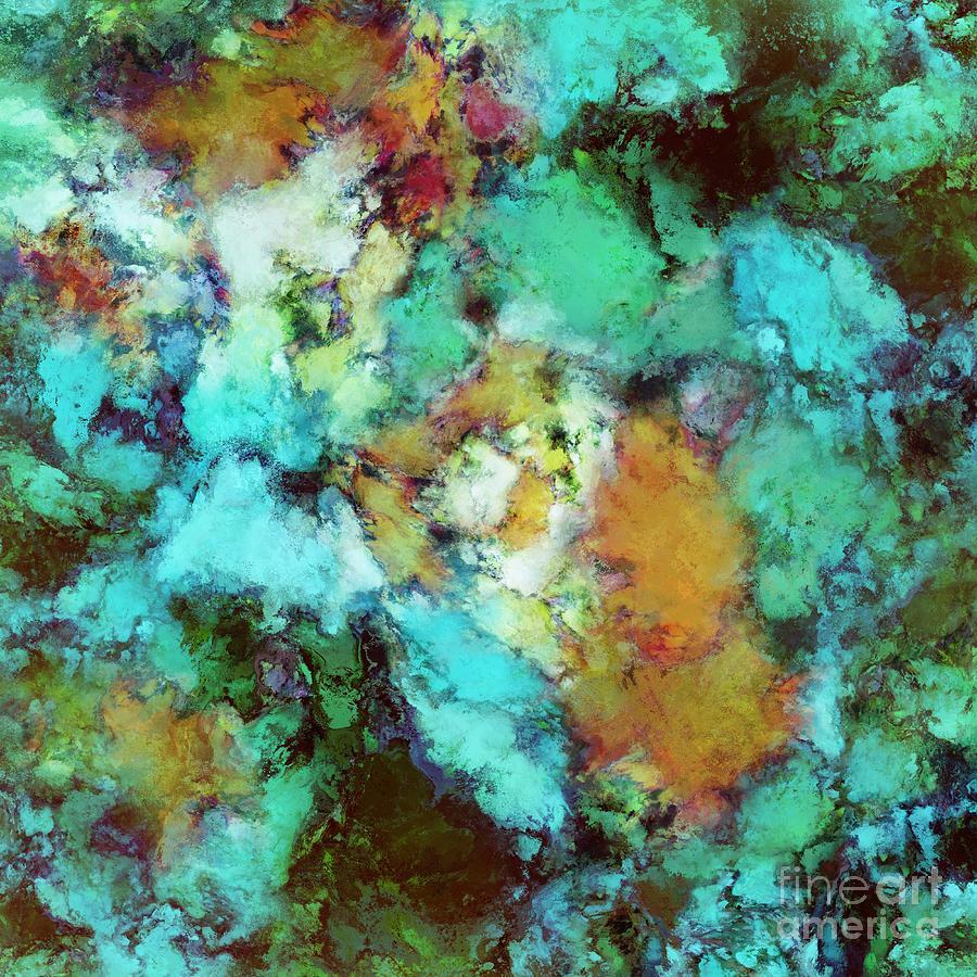 Greens Digital Art - Regeneration by Keith Mills