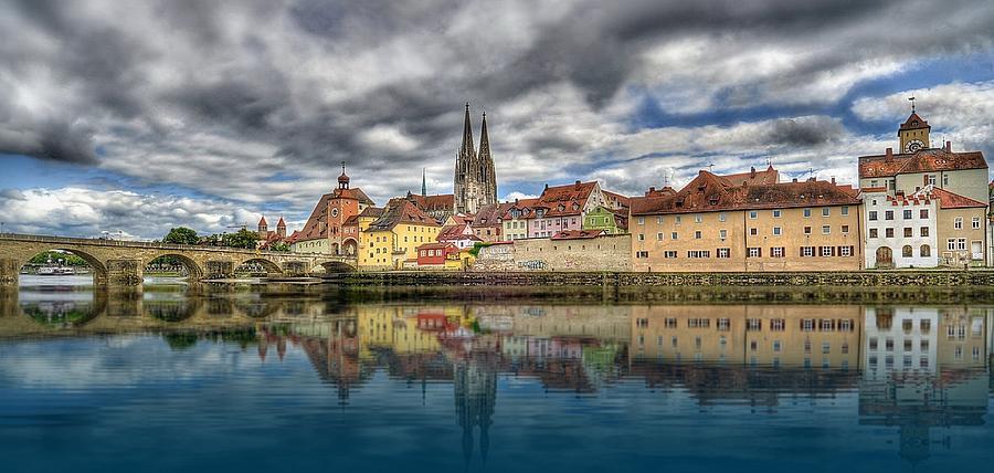Regensburg Photograph by Kind