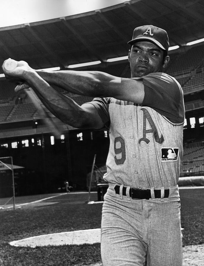 Reggie Jackson Photograph by Hulton Archive