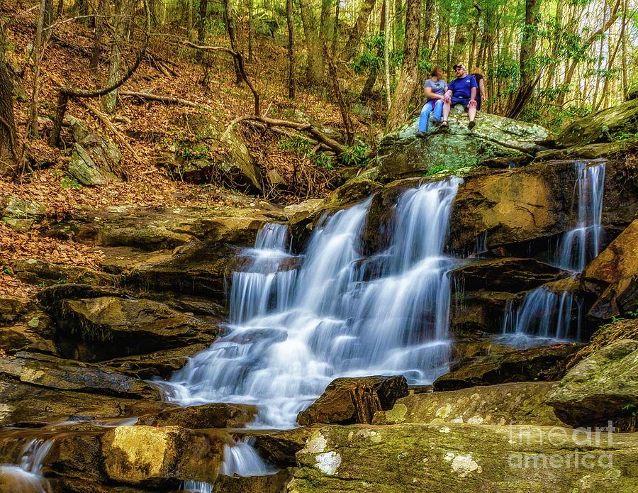 Relaxing at Big Rock by Nick Zelinsky