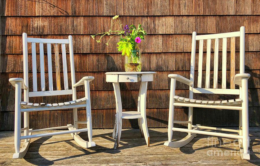 Relaxing in Madawaska by Diana Raquel Sainz by Diana Raquel Sainz