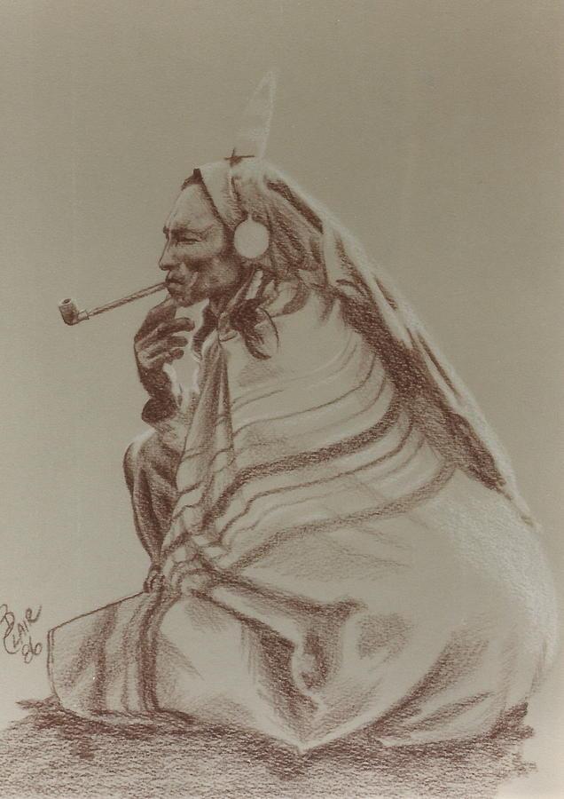 Relaxing Smoke by Barbara Keith