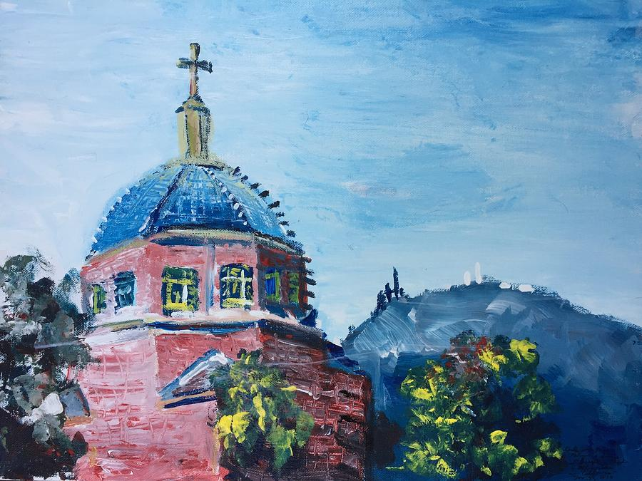 Religion and Science St Josephs Chapel and Mt Wilson by Danielle Rosaria