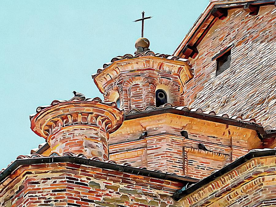Religious Rooftop Roosting by Dorothy Berry-Lound