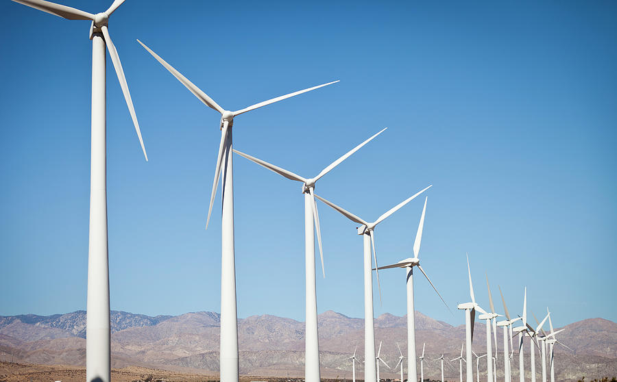 Renewable Energy - Windmills Photograph by Adamkaz