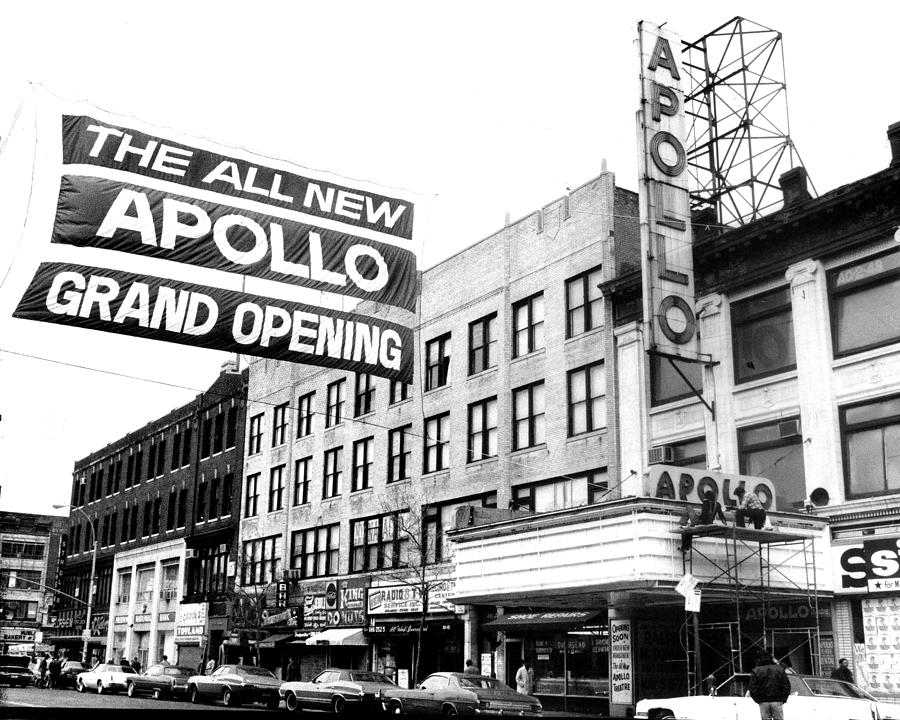 Apollo Theater Photograph - Reopening Apollo Theatre At 252 West by New York Daily News Archive