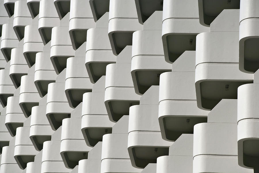 Repetition In Modern Architecture Photograph by Just One Film