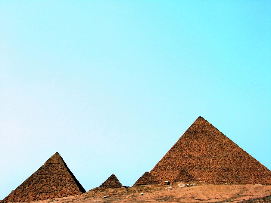 Replica Of The Great Pyramid Of Giza Photograph by Nora Carol Photography