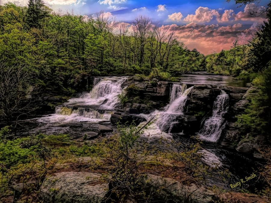 Resica Falls Poconos,Pennsylvania. by Rusty R Smith