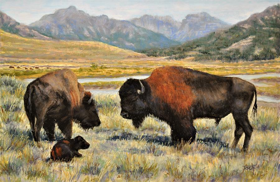 Residence of Yellowstone by Lee Tisch Bialczak