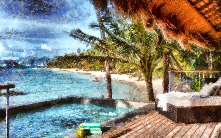 Resort in Paradise by Mario Carini